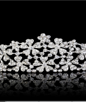 Tiara con Brillantes Incrustados Luxury1 1