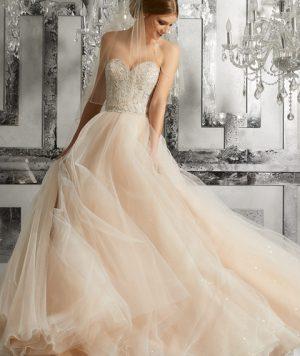 Vestido de Novia en Estilo Princesa 1