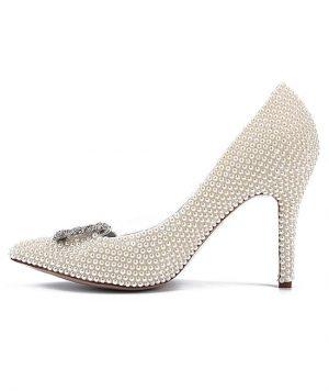 Zapato en Pedreria con Brillantes 1