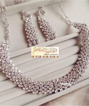 Collar Gargantilla Imitación Diamantes 1